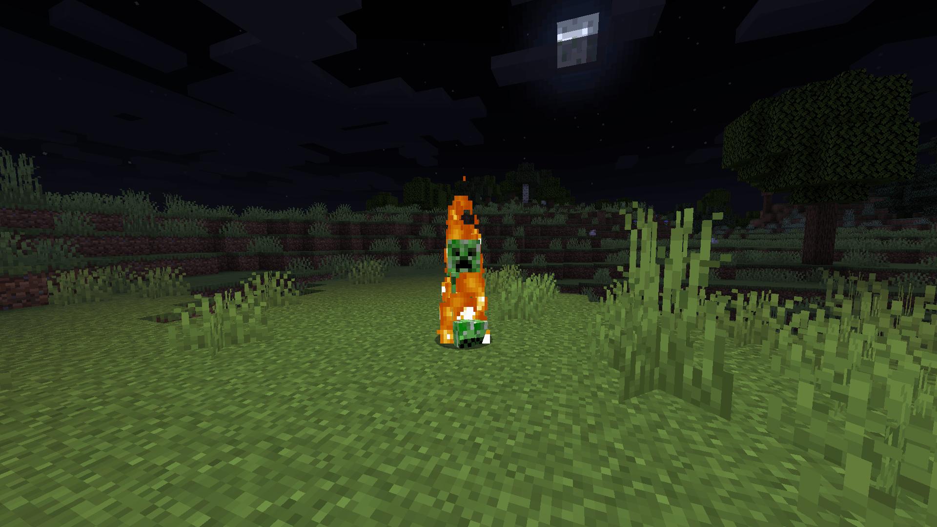 Burning Creeper